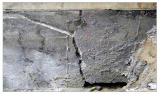 floor cracks wall cracks damp humid or wet basement crumbling